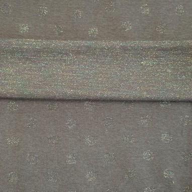 Cuffs Gray Dot Colorfull Glitter