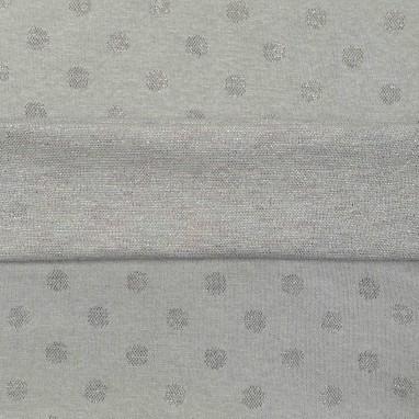Cuffs Light Gray Dot Colorfull Glitter
