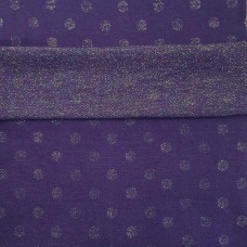 Cuffs Purple Dot Colorfull Glitter