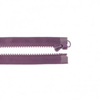 Zipper Divisible 50 cm Aubergine