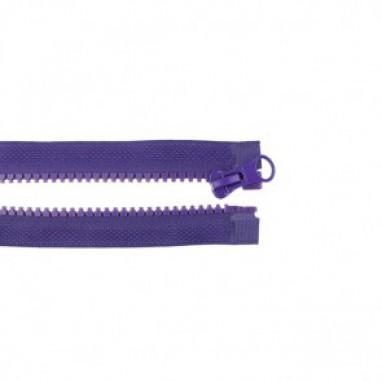 Zipper Divisible 50 cm  Violet