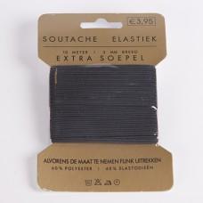 Elastiek Extra Soepel 10 meter 3 mm breed Wit