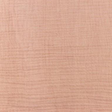 Hydrophilic Melange Cotton Old Pink