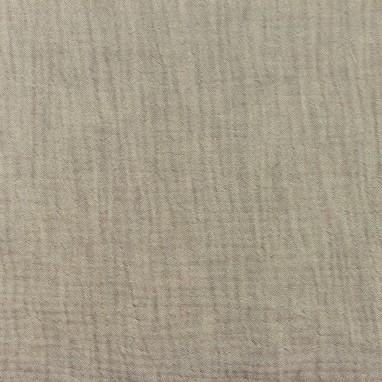 Hydrophilic Melange Cotton Taupe