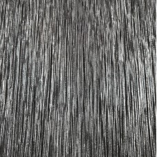 Plissé Black with Silver