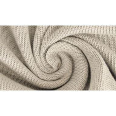 Cotton Knitted Light Beige