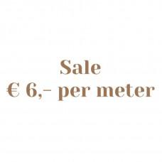 Sale 6, - Per Meter
