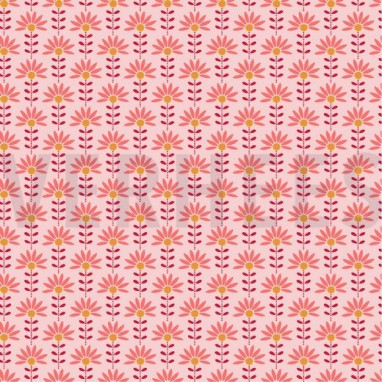 POPLIN GRAPHIC FLOWER