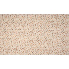 Swiss cotton Flowers Camel Beige