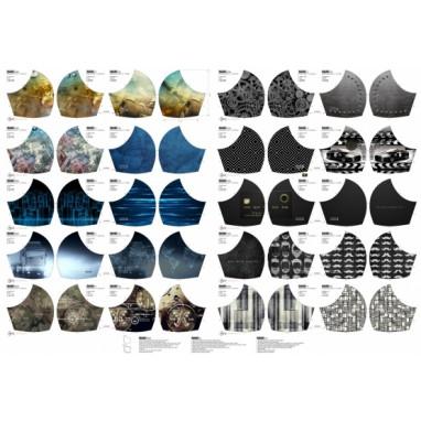 20 different mouth masks Gentlemen