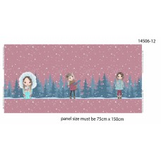 Panel Girls it's snowing
