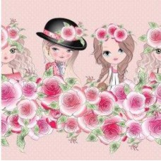 border girls and roses