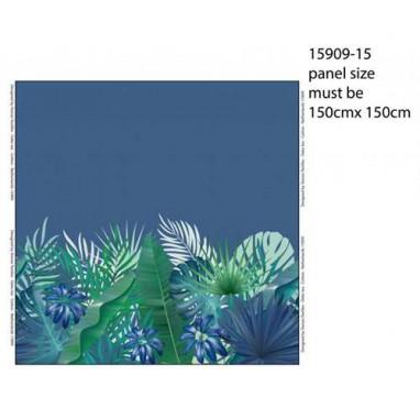 Ladies Panel jungle leaves