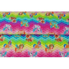 Digitaal colorful scales My Little Pony