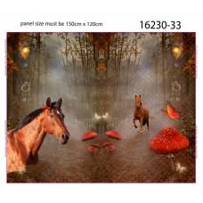 Stenzo Panel Horse autumn forest