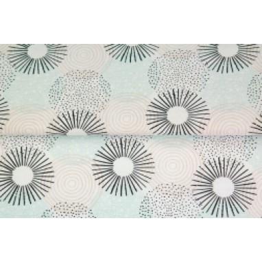 Stenzo poplin circles mint