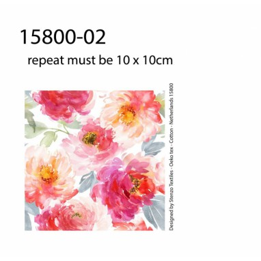 Stenzo hydrophilic / muslin  floral print