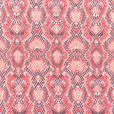Tricot Python Red