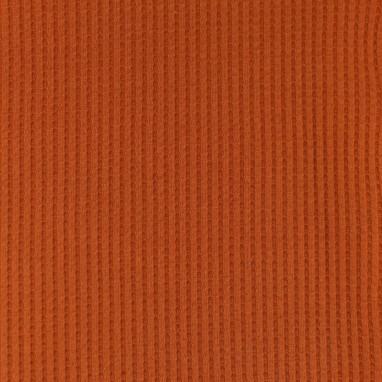 Waffle Jersey Brick Red