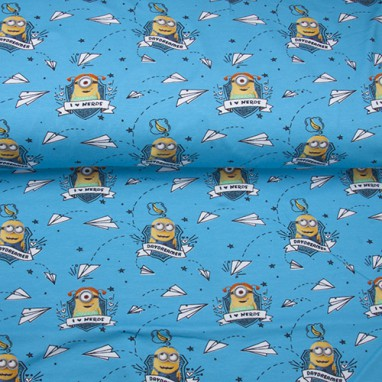 Action jersey minions blue