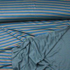 dubbelzijdige tricot blauw
