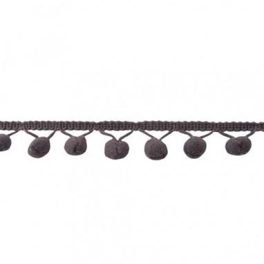 Balls bead Large Medium Gray