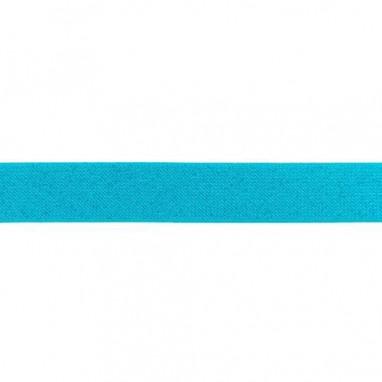 Glitter Elastic 25 mm Aqua