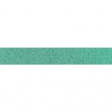 Glitter Elastic 25 mm Old Green