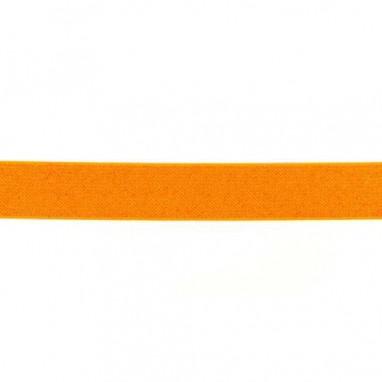 Glitter Elastic 25 mm Neon Orange