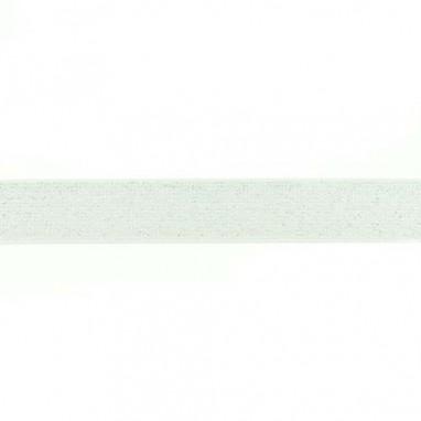 Glitter Elastic 25 mm Offwhite