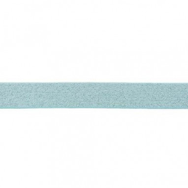Glitter Elastic 25 mm Mint