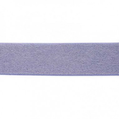 Glitter Elastic 5 cm Jeans