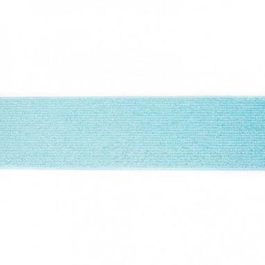Glitter Elastic 5 cm Mint