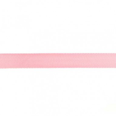 Bag strap 25mm Light Pink