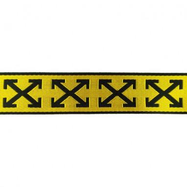 Band Gloss Cross Yellow