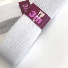 biaisband bosje wit 2cm