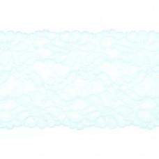 Stretchable Lace Uni Light Blue