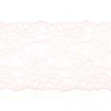 Stretchable Lace Uni Pink