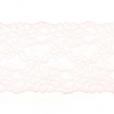 Stretchable Lace Uni Pink