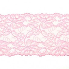 Stretchable Lace Uni Old Pink