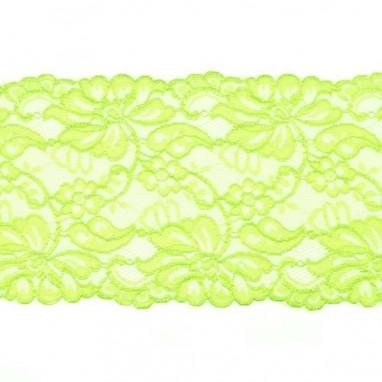 Stretchable Lace Uni Lime