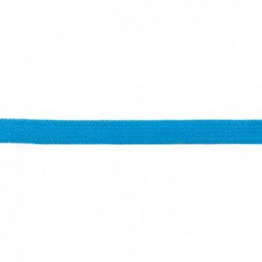 Flat Cord 20 mm Aqua