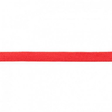 Flat Cord 20 mm Red