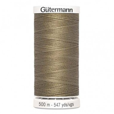 Gutermann Polyester 500meter (coon) 208