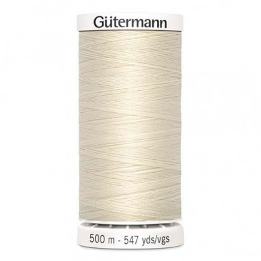 Gutermann Polyester 500meter (coon) 802