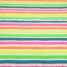 Tricot streep Neon