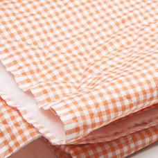 Oranje Doorgestikt Gewatteerd Katoen