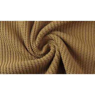 Cotton Knitted Cable Beige
