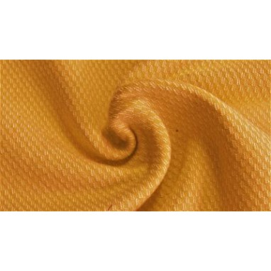 acquard heavy sweat brushed Yellow ochre