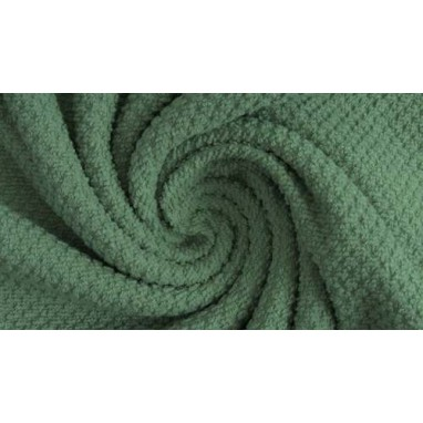 Baby Waffle Fabric Old Green